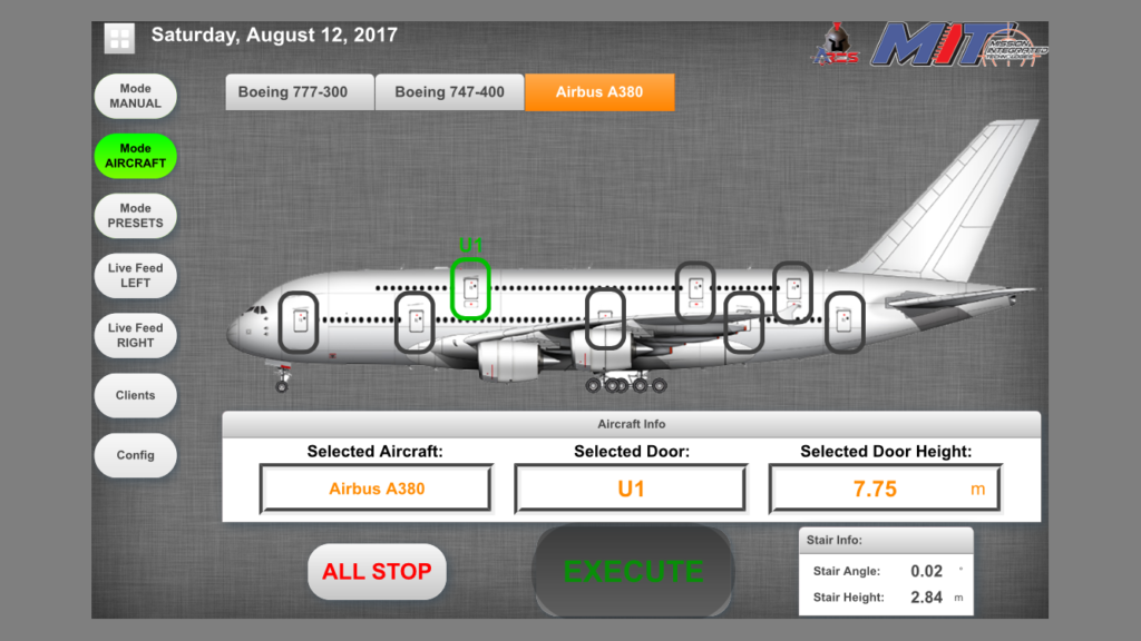 ARES Smart App in Aircraft Mode